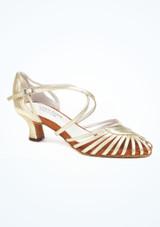Zapatos de Baile Sascha Anna Kern 5cm Oro. [Oro]