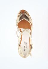 Zapatos de Baile Sascha Anna Kern 5cm Oro #2. [Oro]