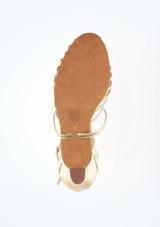 Zapatos de Baile Sascha Anna Kern 5cm Oro #3. [Oro]