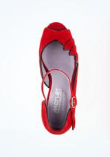 Zapatos de Baile Danube 1404 Merlet 5cm Rojo #2. [Rojo]