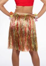 Falda de rafia multicolor #2. [Multicolor]