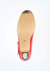 Zapatos de Flamenco Con Hebilla Intermezzo Rojo #3. [Rojo]