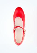 Zapatos de Flamenco Con Hebilla Intermezzo Rojo #2. [Rojo]