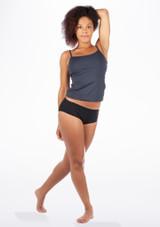 Sujetador Deportivo de Danza Ameila Move Dance Gris. [Gris]
