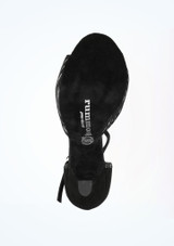 R325 Rebeca 8 cm de Rummos* Negro #3. [Negro]