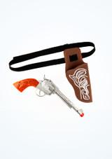 Pistolera con pistola Marrón imagen principal. [Marrón]