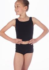 Camiseta Danza Nina sin Mangas Repetto Negro. [Negro]