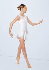 Weissman Crossover Sash Dress