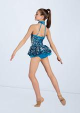 Weissman Ultra Sparkle Back Panel Dress