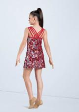 Weissman Hologram Ultra Sparkle Dress