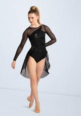 Weissman Sequin Crossover Dress