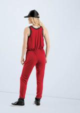 Weissman Athletic Stripe Jumpsuit