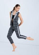 Weissman Stretch Tweed Suit Vest