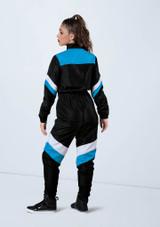 Weissman Neon Colorblock Jumpsuit