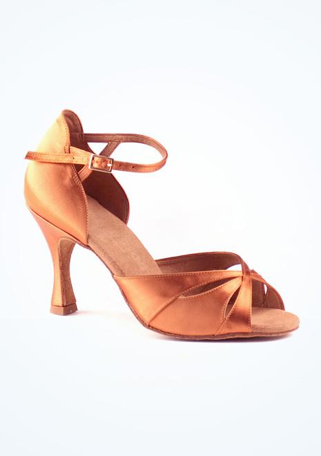 Zapatos de Baile Cindy Rummos 7cm Marrón Claro. [Marrón Claro]
