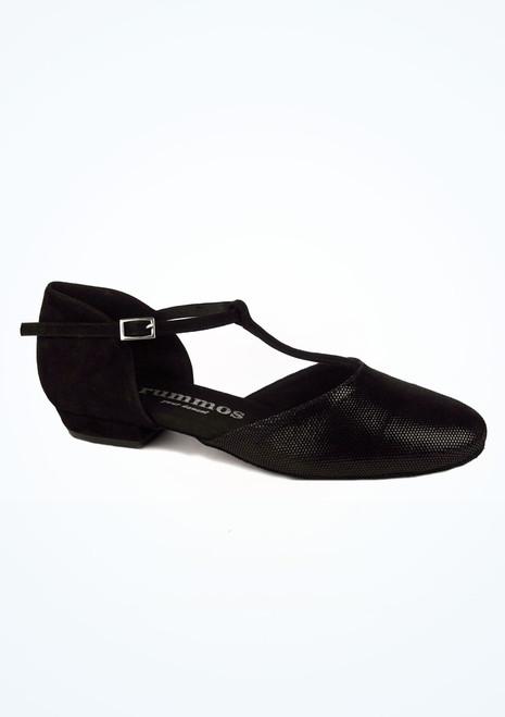 Zapatos de Baile Carol Rummos 1,75cm Negro. [Negro]