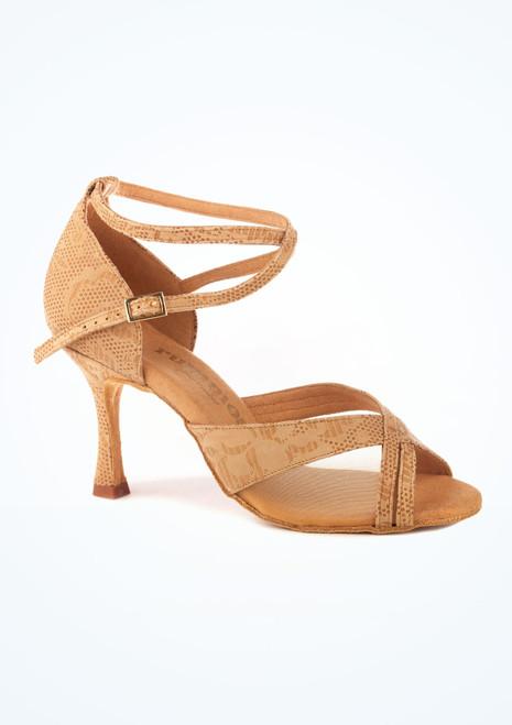 Zapatos de Baile Conni R370 Rummos 8cm Marrón Claro. [Marrón Claro]