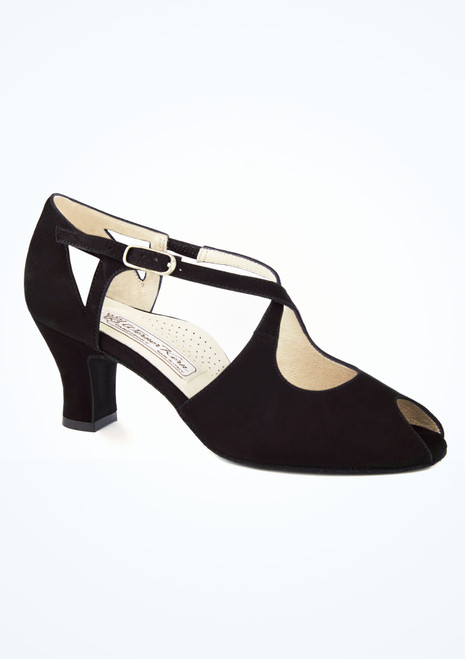 Zapato salon Georgia Werner Kern 6cm Negro. [Negro]