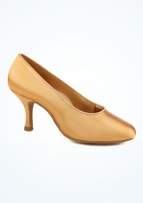 Zapatos de Baile de Raso Bora Ray Rose 5CM Color Carne Marrón Claro imagen principal. [Marrón Claro]