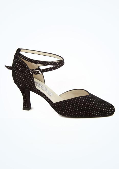 Zapato Betty lunares de salon y latino 6 cm Werner Kern Negro imagen principal. [Negro]