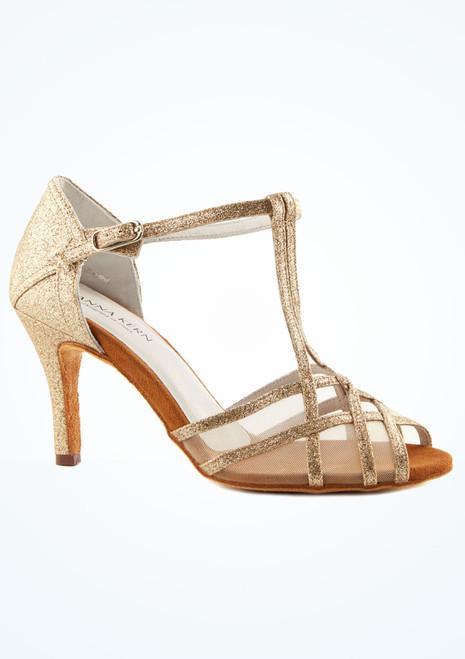 Zapato de baile Aria de Anna Kern de 7.62 cm Oro imagen principal. [Oro]
