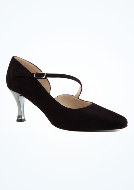 Zapatos de baile Sarah Werner Kern de 6,35 cm Negro imagen principal. [Negro]