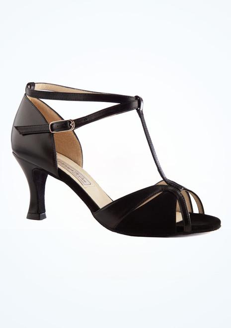 Zapatos de baile Astrid Werner Kern de 6,35 cm Negro imagen principal. [Negro]