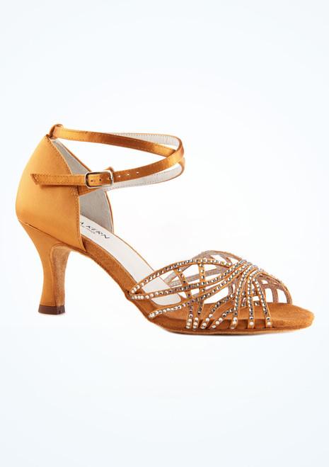 Zapato de baile Sabine de Anna Kern de 6 cm Bronce imagen principal. [Bronce]