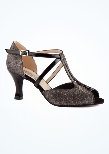 Zapatos de baile Holly Werner Kern de 6,35 cm Negro imagen principal. [Negro]