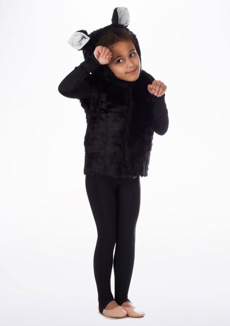 Tabardo de gato Negro. [Negro]