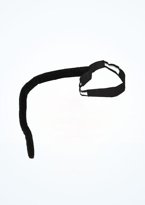 Cola de gato con cinturon Negro. [Negro]