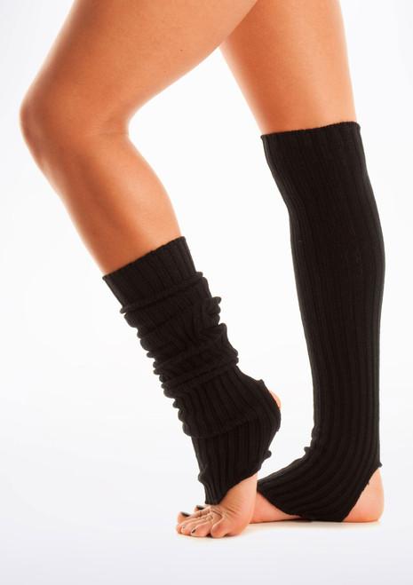 Calentadores con tira para el pie, 60 cm Black [Negro]