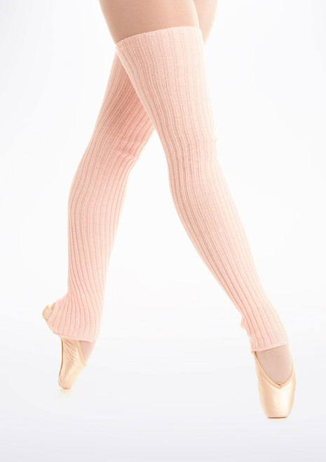 Calentadores con tira bajo el pie, 90cm Pink [Rosa]