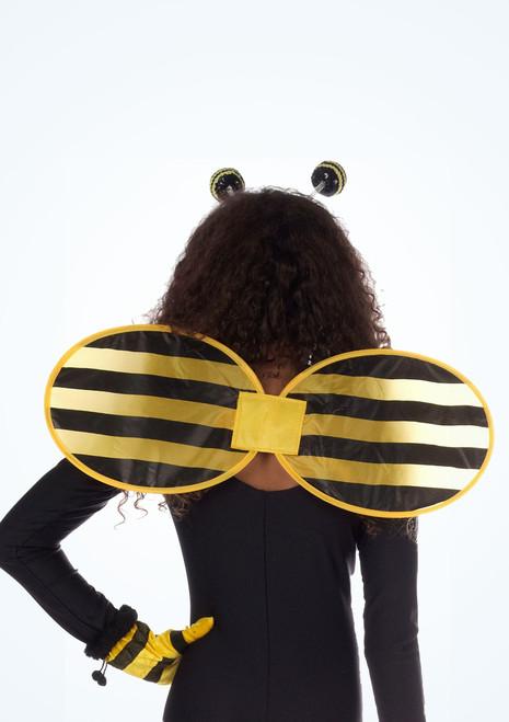 Alas de abeja Negro-Amarillo. [Negro-Amarillo]