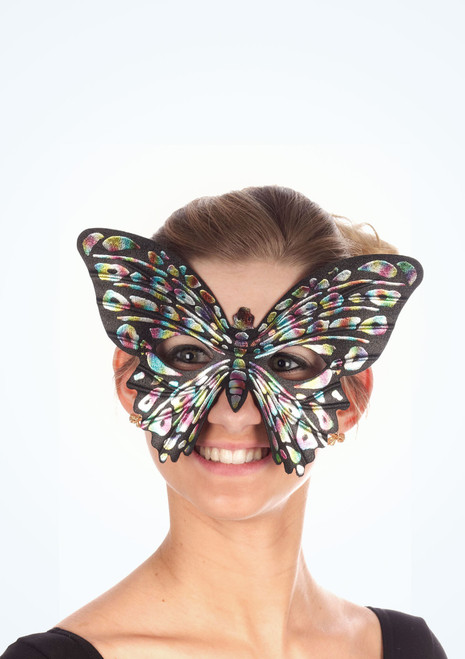 Antifaz mariposa Negro. [Negro]