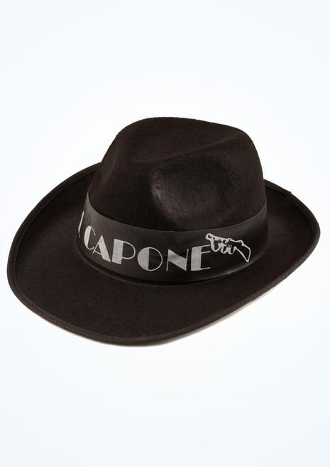 Sombrero de Al Capone Negro. [Negro]