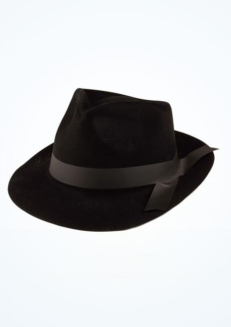 Sombrero de ganster Negro. [Negro]