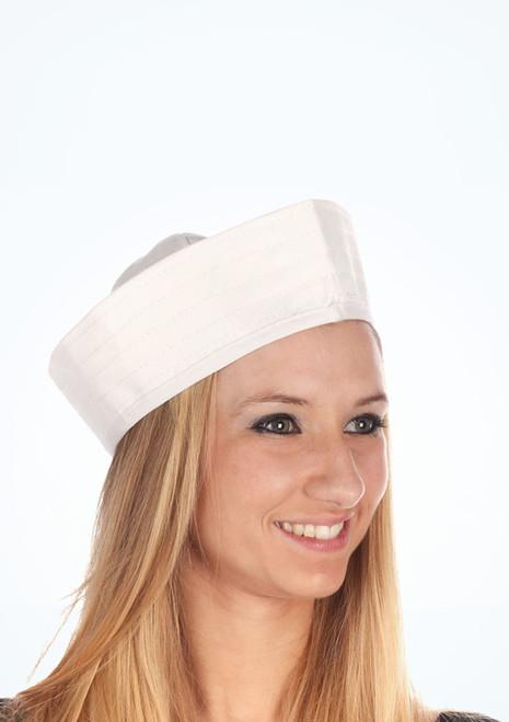 Sombrero de marinero Blanco. [Blanco]