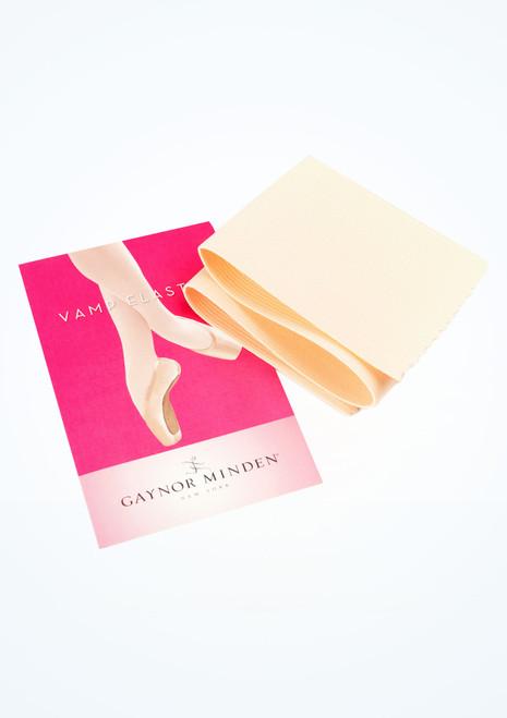 Cinta Vamp Elastic de Gaynor Minden Pink Pointe Shoe Accessories [Rosa]