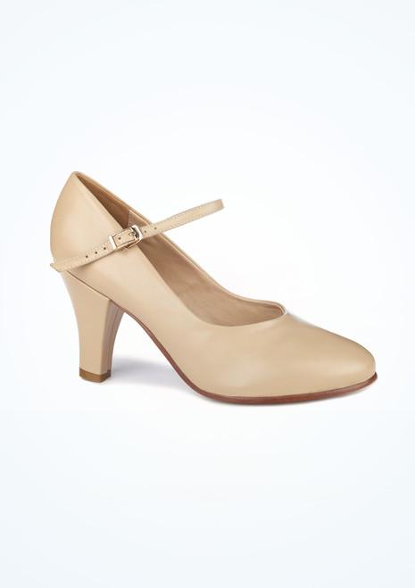 Zapato de caracter 7,5 cm tostado Pippin Move Marrón Claro. [Marrón Claro]