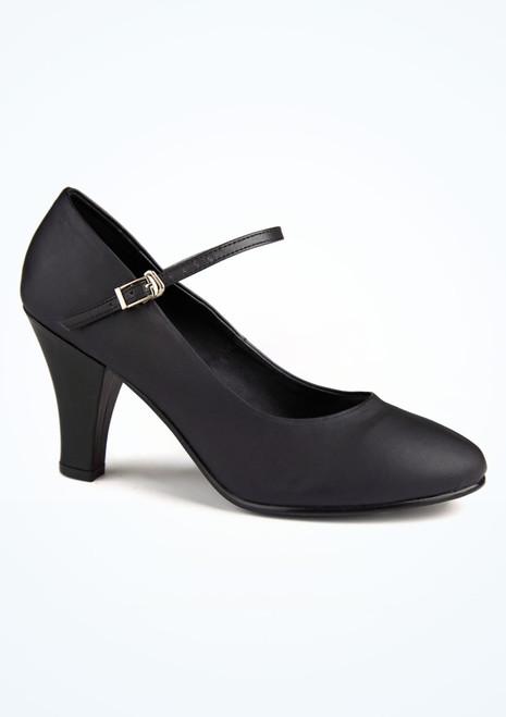 Zapato caracter Pippin 7,5cm negro Move. [Negro]