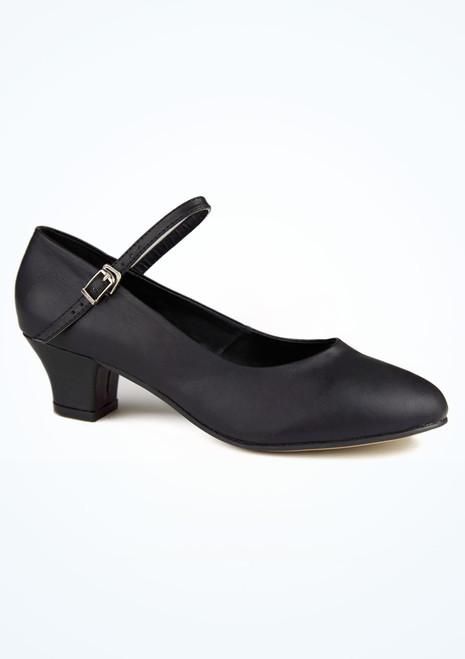 Zapato caracter Dina 4 cm negro Move. [Negro]
