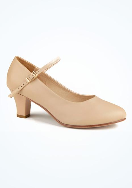 Zapato caracter Minelli  5 cm natural Move Marrón Claro. [Marrón Claro]