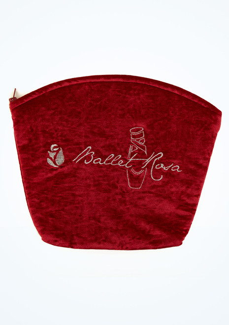 Bolso de danza de terciopelo Ballet Rosa Rojo imagen principal. [Rojo]