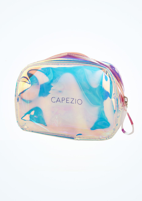 Bolsa de maquillaje holografico Capezio Multicolor frontal. [Multicolor]