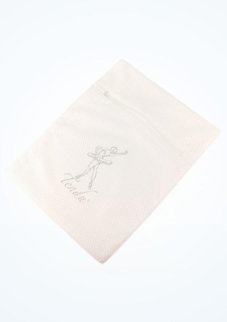 Bolsa de malla para colada Tendu Blanco imagen principal. [Blanco]