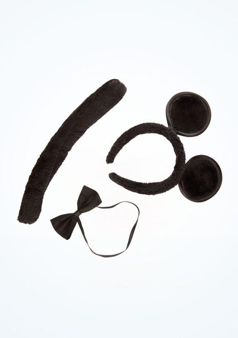Conjunto de disfraz de raton Negro imagen principal. [Negro]
