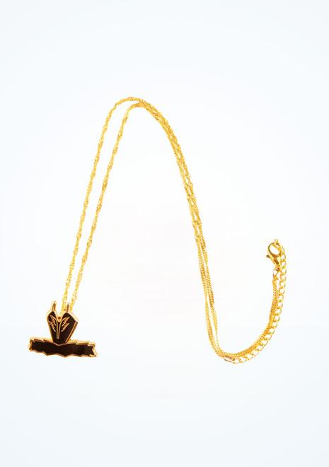 Collar Swan Tutu Ballet Bag Negro frontal. [Negro]