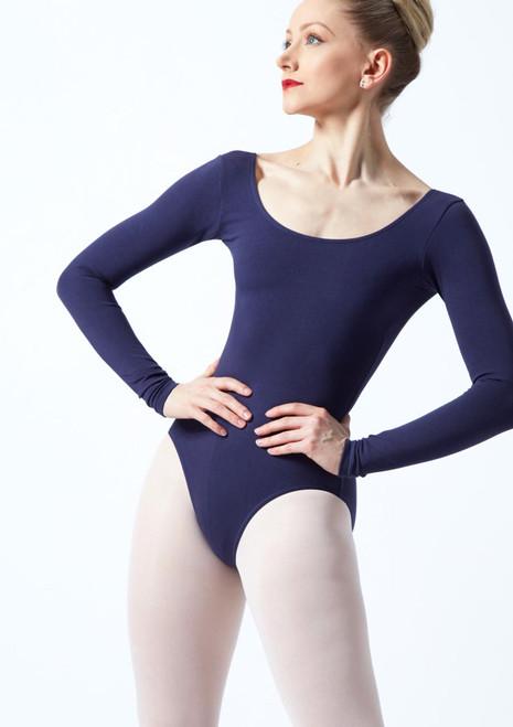 Maillot Ballet Premiere Bloch Rojo frontal.