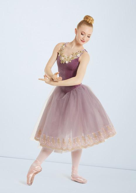 Weissman Music Box Dancer Rosa frontal. [Rosa]